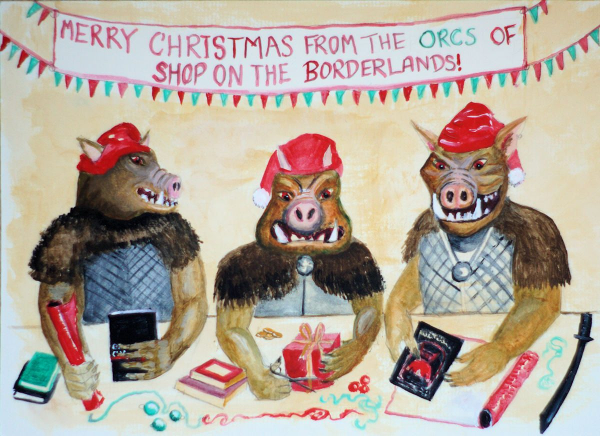 Merry Christmas from the Orcs!
