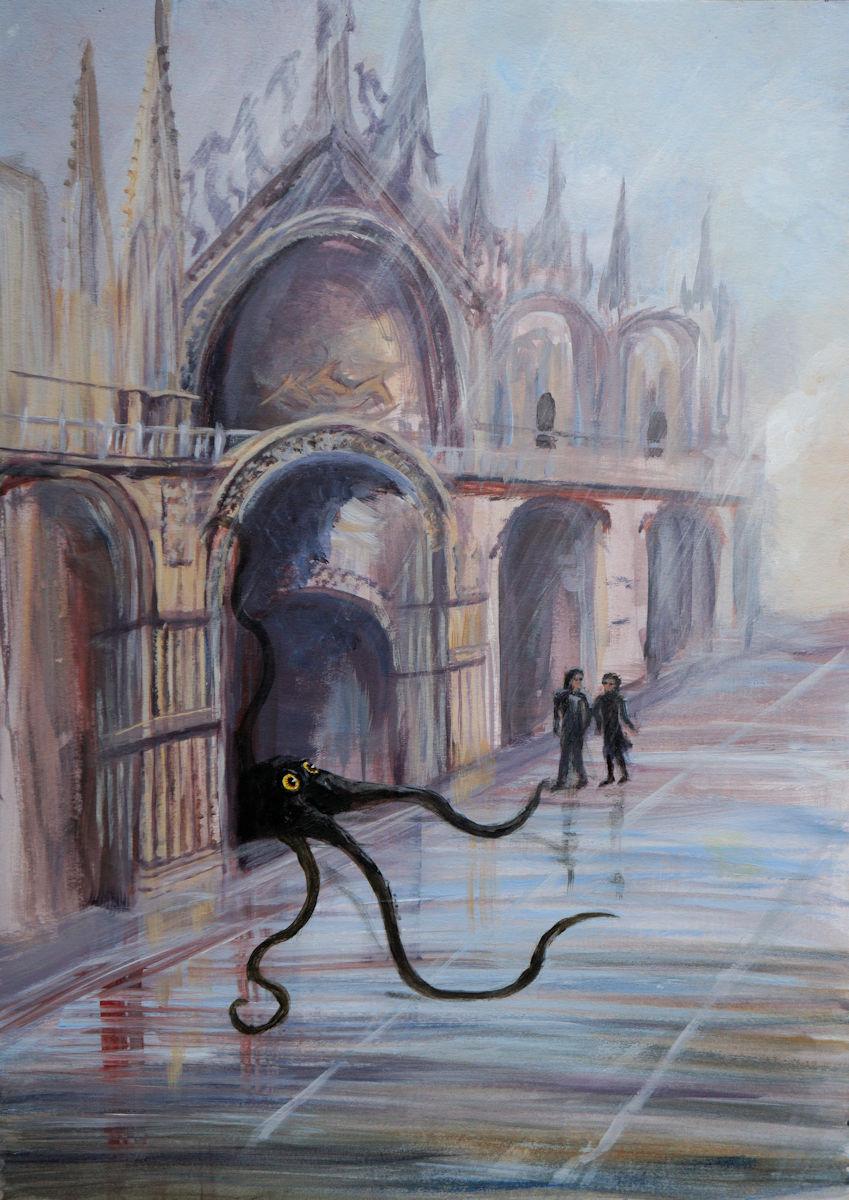 Visitors in Venice