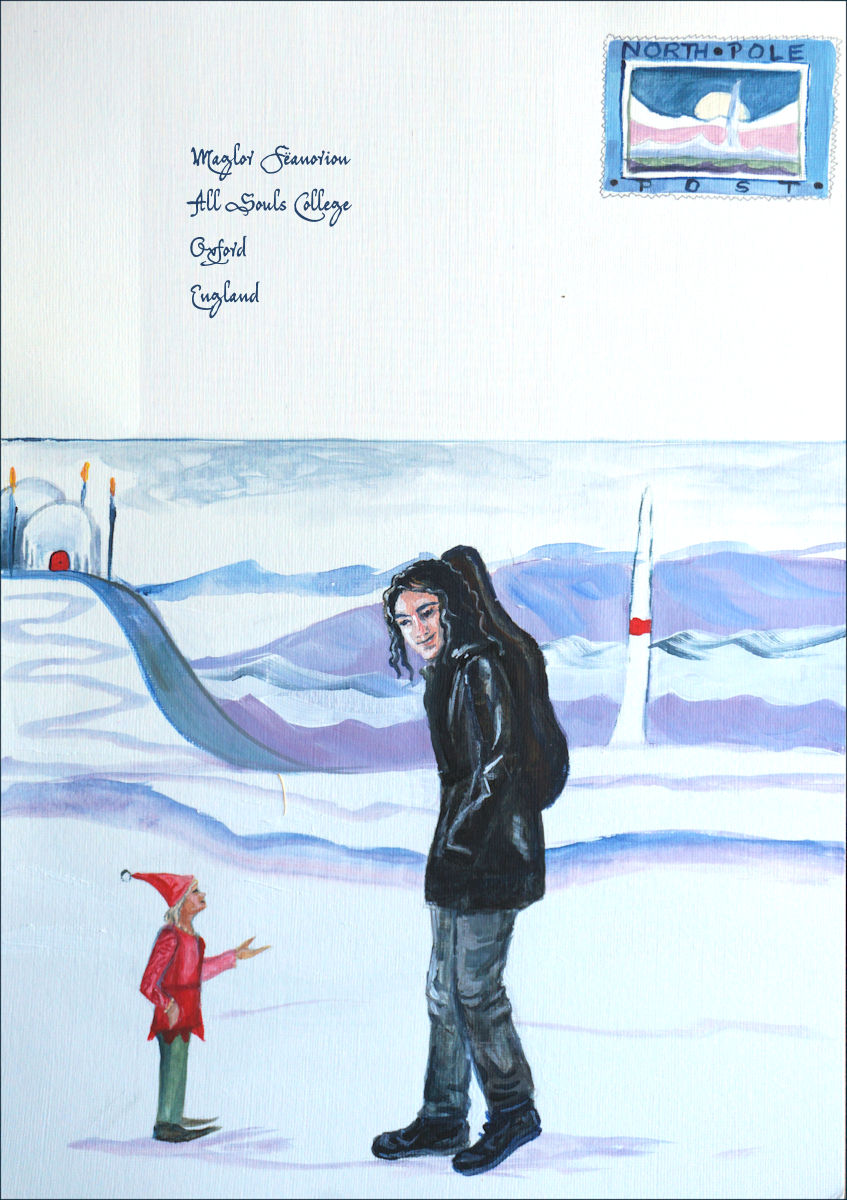 Story Illustrations in acrylic and ink
