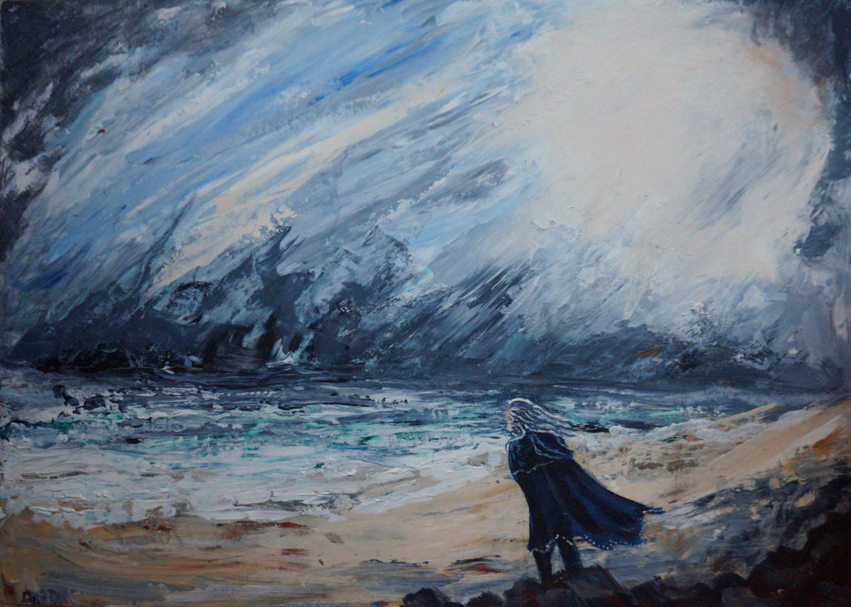Cirdan Facing the Storm