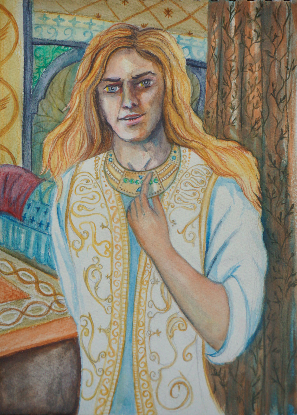 Finrod in Nargothrond